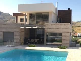 DYOV STUDIO Arquitectura. Concepto Passivhaus Mediterráneo. 653773806 Villa Marmo Beige
