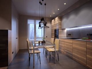 Orel Andre Eclectic style kitchen