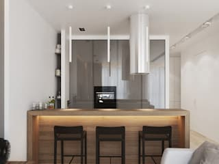 Orel Andre Scandinavian style kitchen