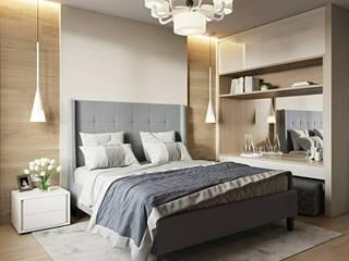 Квартира 105м.кв. г.Москва Спальня в классическом стиле от Orel Andre Классический