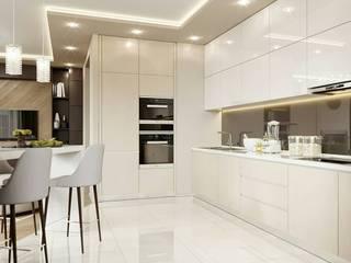 Квартира 105м.кв. г.Москва Кухня в классическом стиле от Orel Andre Классический