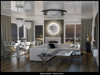 Projekt luksusowego apartamentu Nieruchomosci-Wroclaw.Net od Nieruchomosci-Wroclaw.Net