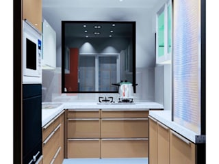 Modular Kitchen by Make My Nest Modern