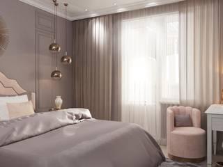 Золото в пудре Спальня в классическом стиле от Aller design Классический