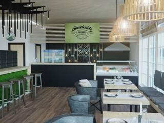 Jonthside lounge bar Бары и клубы в скандинавском стиле от Aller design Скандинавский