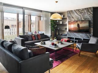 Arketip projesi Monlab Design Oturma OdasıTV Dolabı & Mobilyaları