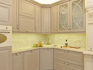 Кухня в ЖК Наследие от Гайсин и Ко Классический