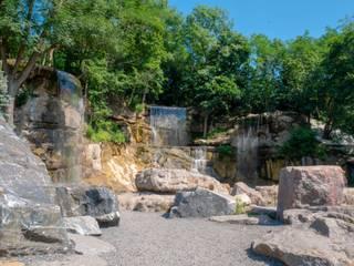 Комплекс водопадов «Трезубец Посейдона» от Студия ландшафтного дизайна Кости Юдина