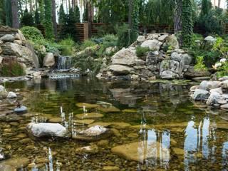 Декоративный пруд с карпами от Студия ландшафтного дизайна Кости Юдина