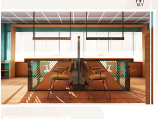 Yönetim Birimi Tasarımı Rustik Çalışma Odası Kut İç Mimarlık Rustik