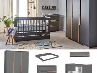 Babyzimmer komplett 5-teilig Spring Set B von QMM TraumMoebel Modern