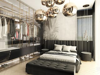 Modern Yatak Odası ARTDESIGN architektura wnętrz Modern