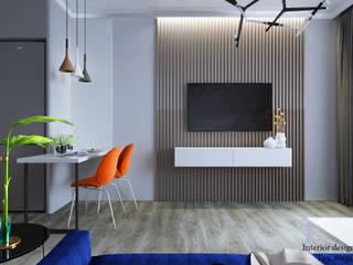 Moderne Wohnzimmer von Студия дизайна Натали Modern