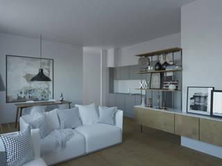 Home Lucilio Modern Oturma Odası YGA/Yasemin Güler Archıtecture Modern