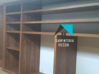 Carpintería VICCON Fitnessraum Holzspanplatte Holznachbildung