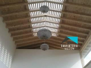 Carpintería VICCON Interior landscaping Chipboard Wood effect
