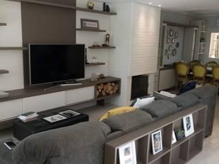 by Elaine Medeiros Borges design de interiores Eclectic