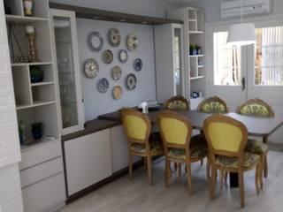 Phòng ăn phong cách chiết trung bởi Elaine Medeiros Borges design de interiores Chiết trung