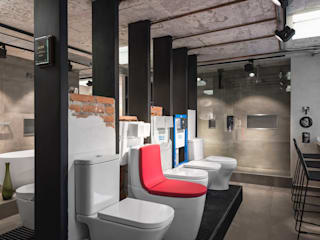Industrial style bathroom by Acor México Industrial