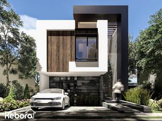 La fachada de tu próxima casa moderna. Casas modernas de Rebora Arquitectos Moderno