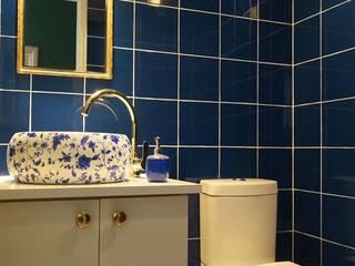Phòng tắm phong cách hiện đại bởi Triptico Diseño y Construcción Hiện đại