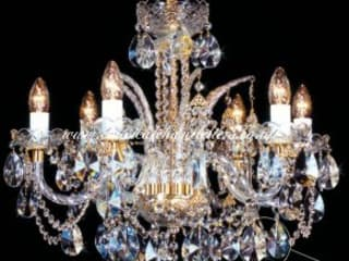 Ceiling Chandeliers -Classic Brass Cage Classical Chandeliers