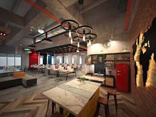 Interior & Exterior Design & Renovation for Factory by One Roof Design Sdn Bhd