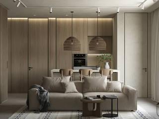 Scandinavian style living room by U-Style design studio Scandinavian