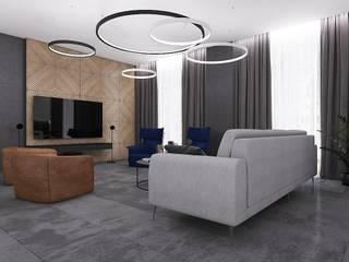 Квартира-люкс, 155м2 от Design.Domino Лофт