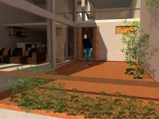 Casa Gertrudis Balcones y terrazas modernos de Arqmando taller de arquitectura Moderno