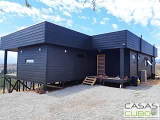 Casa Limache 100m2 + terraza principal techada 47m2 y terraza acceso 5m2 de casas cubo Mediterráneo