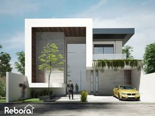 Entra en la casa de tus sueños, el diseño extraordinario que has estado ideando. Casas modernas de Rebora Arquitectos Moderno