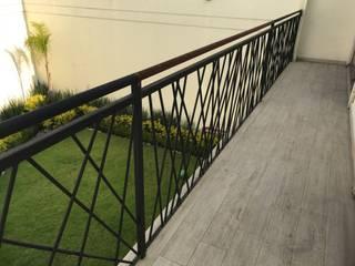 Escaleras y barandales de Herrería Villa Clásico
