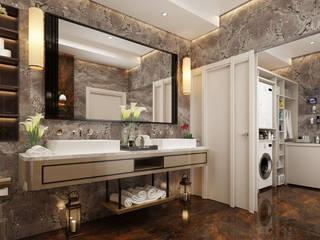 Eclectische badkamers van Derya Bilgen Eclectisch