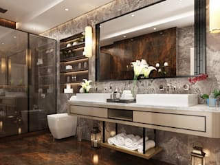 Moderne badkamers van Derya Bilgen Modern