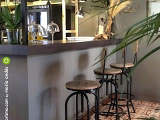 A interiorismo by Maria Andes ร้านอาหาร เหล็ก Grey