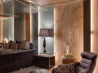 모던스타일 침실 by Estúdio Pantarolli Miranda - Arquitetura, Design e Arte 모던