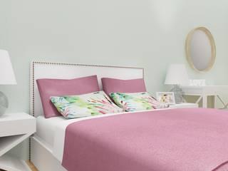 Assimetrias (contacto: info@assimetrias.pt) Modern style bedroom