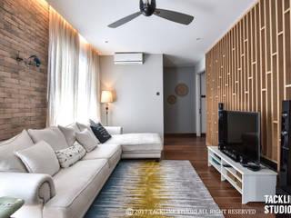 Modern living room by Tackline Studio Modern
