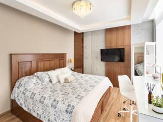 DEPARTAMENTO LAS HUASTECAS 503 Dormitorios clásicos de ESTUDIO TANGUMA Clásico