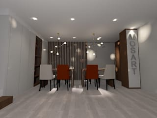 by 7eva design - Arquitectura e Interiores Сучасний