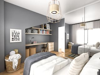 Bhavana Rustic style bedroom
