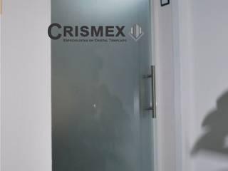 Crismex Ruang Studi/Kantor Modern Kaca