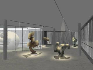 Museo de esculturas Black Room Lab