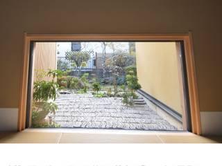 中根の家 樹・中村昌平建築事務所 アジア風 庭