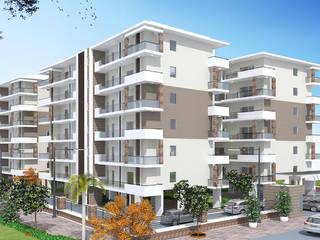 Ashirwad Towers | 3 BHK ready to move apartments Modern dining room by Ashirwad Towers Modern