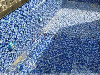 Thiết bị bể bơi Bilico 庭院泳池 水泥 Blue