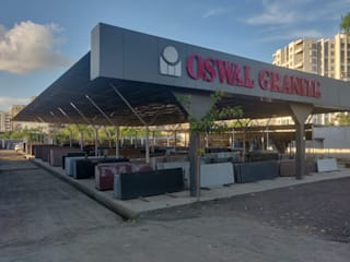 Yard Classic style houses by Oswal Granite Classic