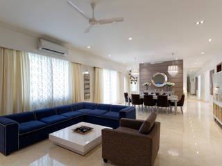 Adarsh Premia Modern living room by MB Decor Modern