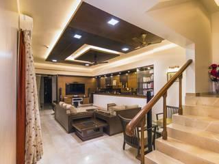 Bagaitkar Residence Interiors Modern living room by Vangikar Architects Modern